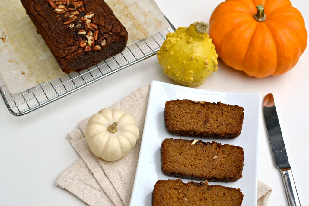 Coconut Flour Pumpkin Bread 4