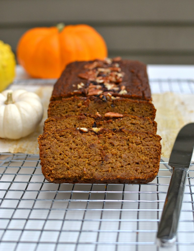 Coconut Flour Pumpkin Bread 8
