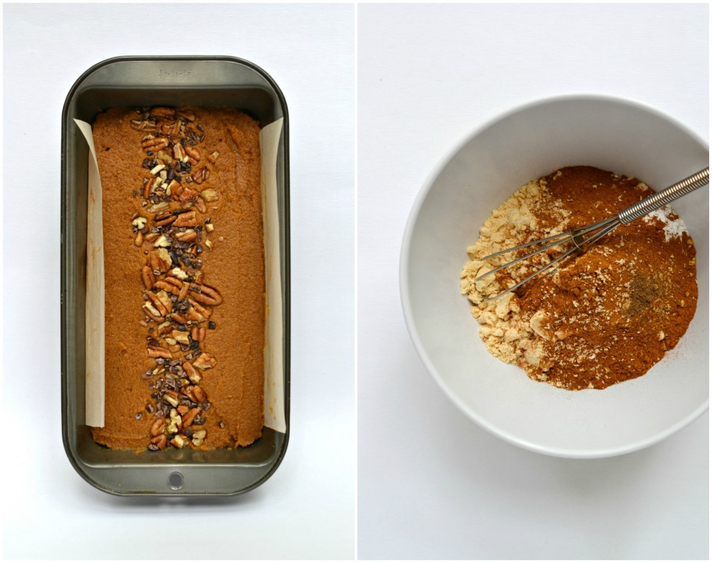 Coconut Flour Pumpkin Bread Collage