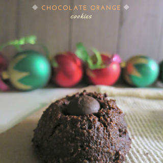 Gluten Free Chocolate Orange Cookies (Vegan Option)