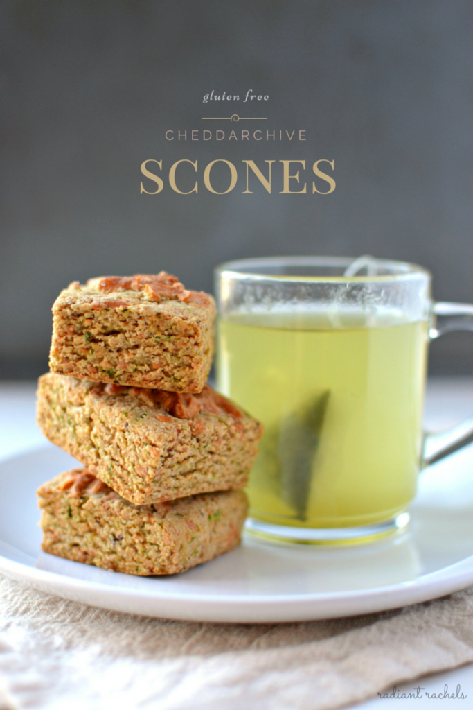 Cheddar Chive Scones - title