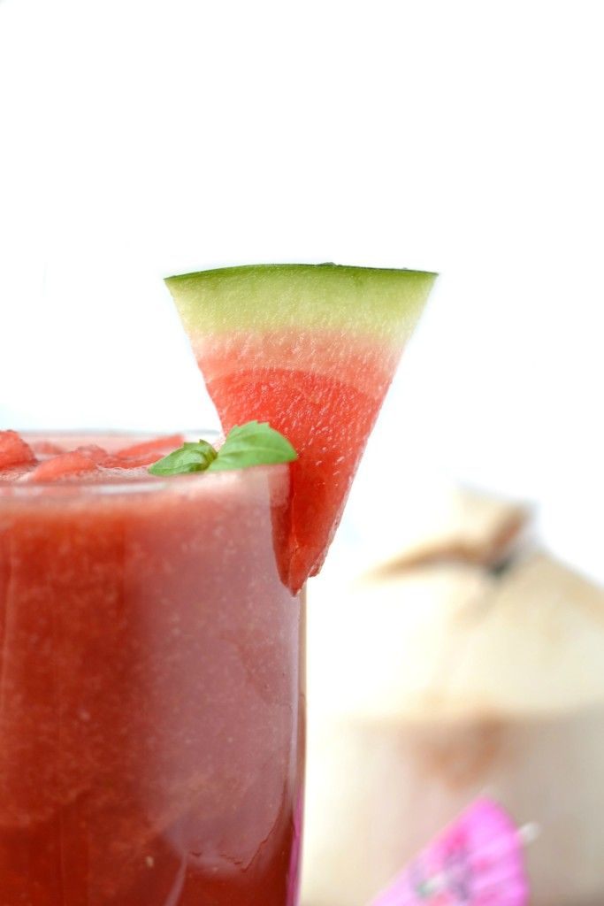 Watermelon Basil Smoothie 6