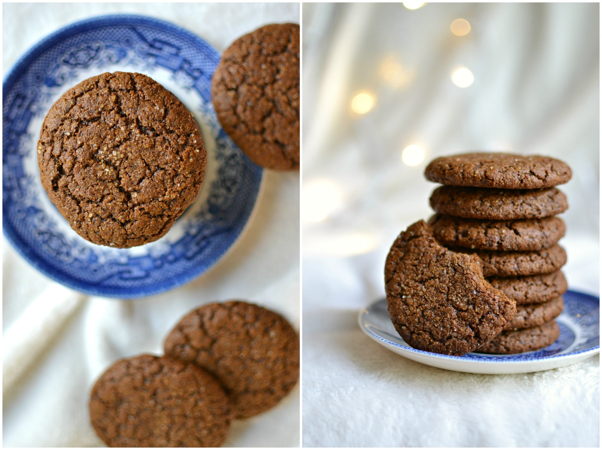 ... gingersnap cookies at room temperature. Assemble when you're ready