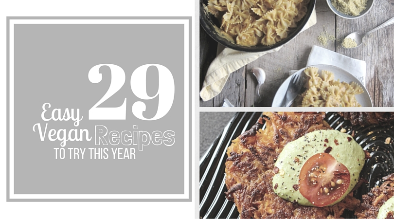 29 easy vegan recipes to make this year radiant rachels 29 easy recipes to try forumfinder Gallery