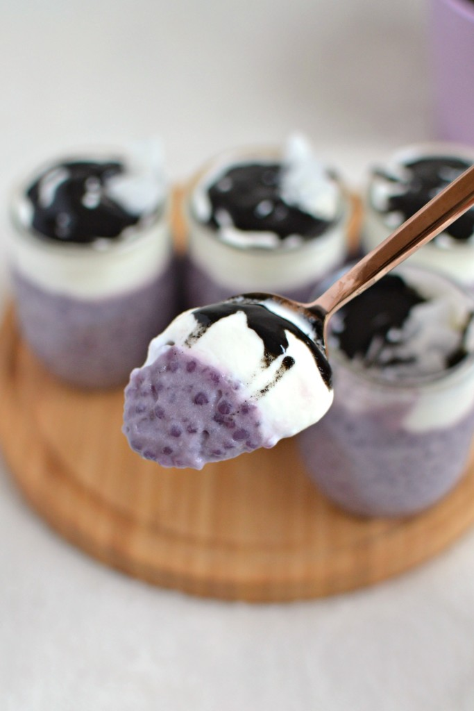 Ube Tapioca Pudding 3
