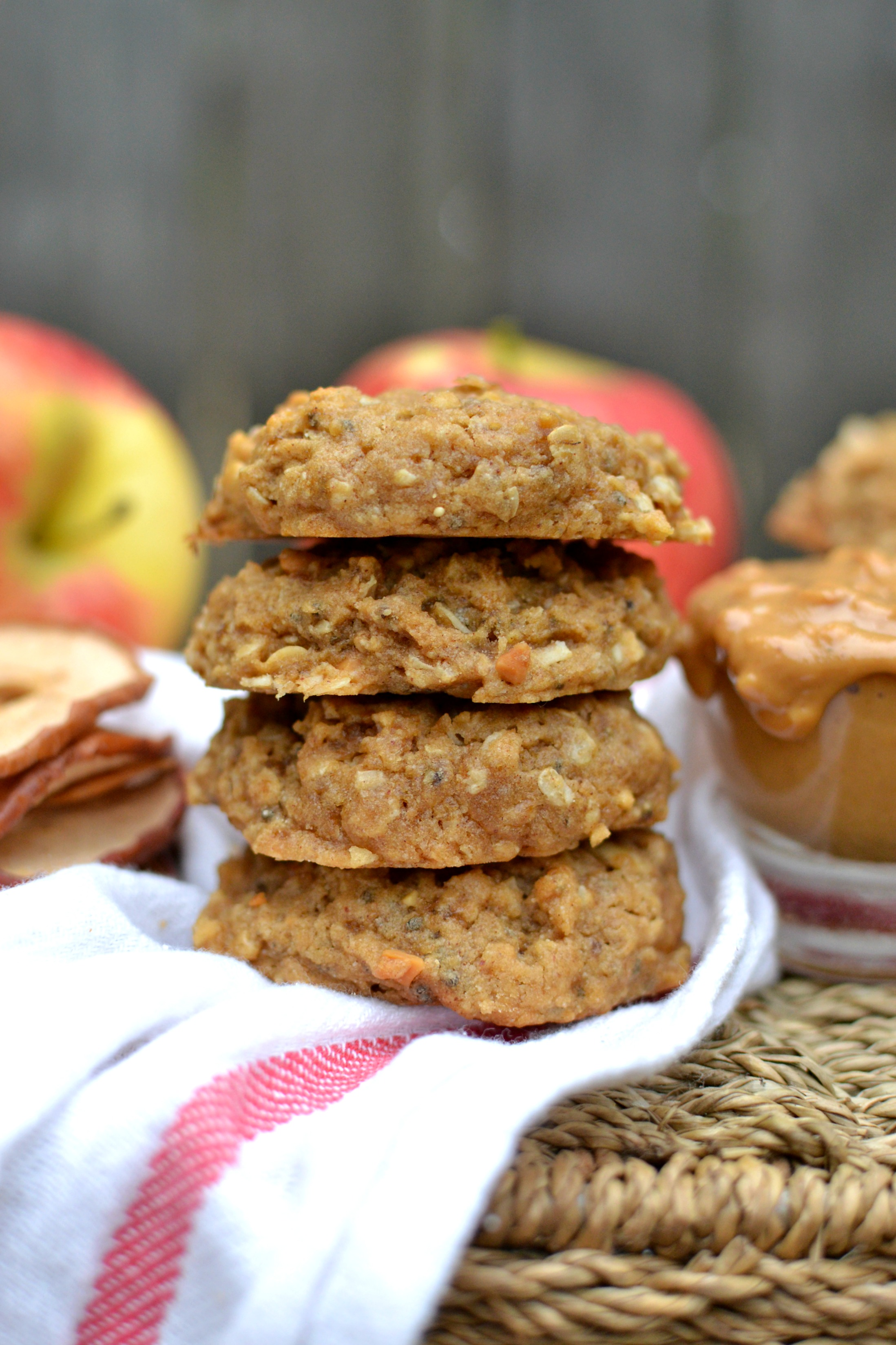 Peanut Butter Apple Cookies 1