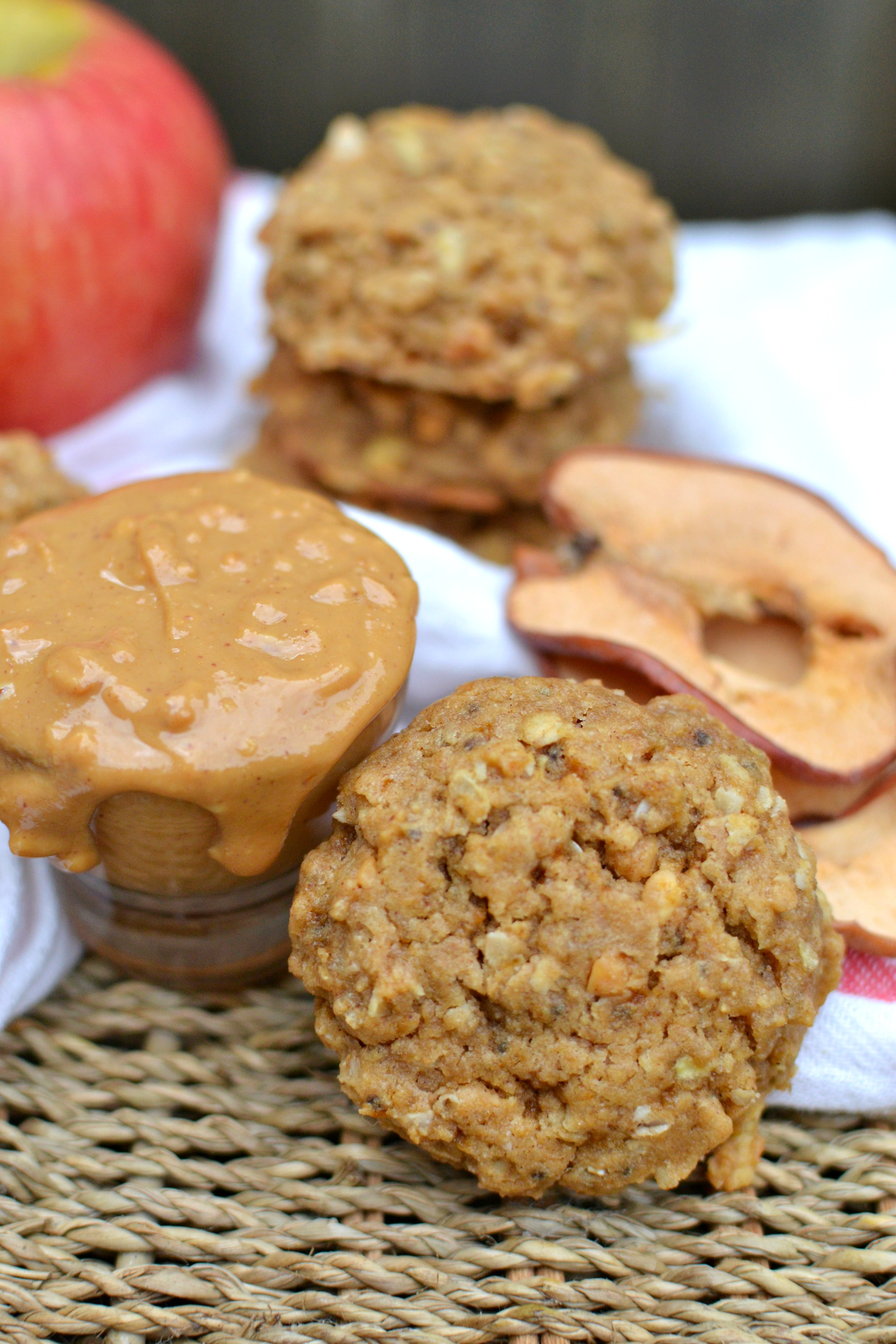 Peanut Butter Apple Cookies 3