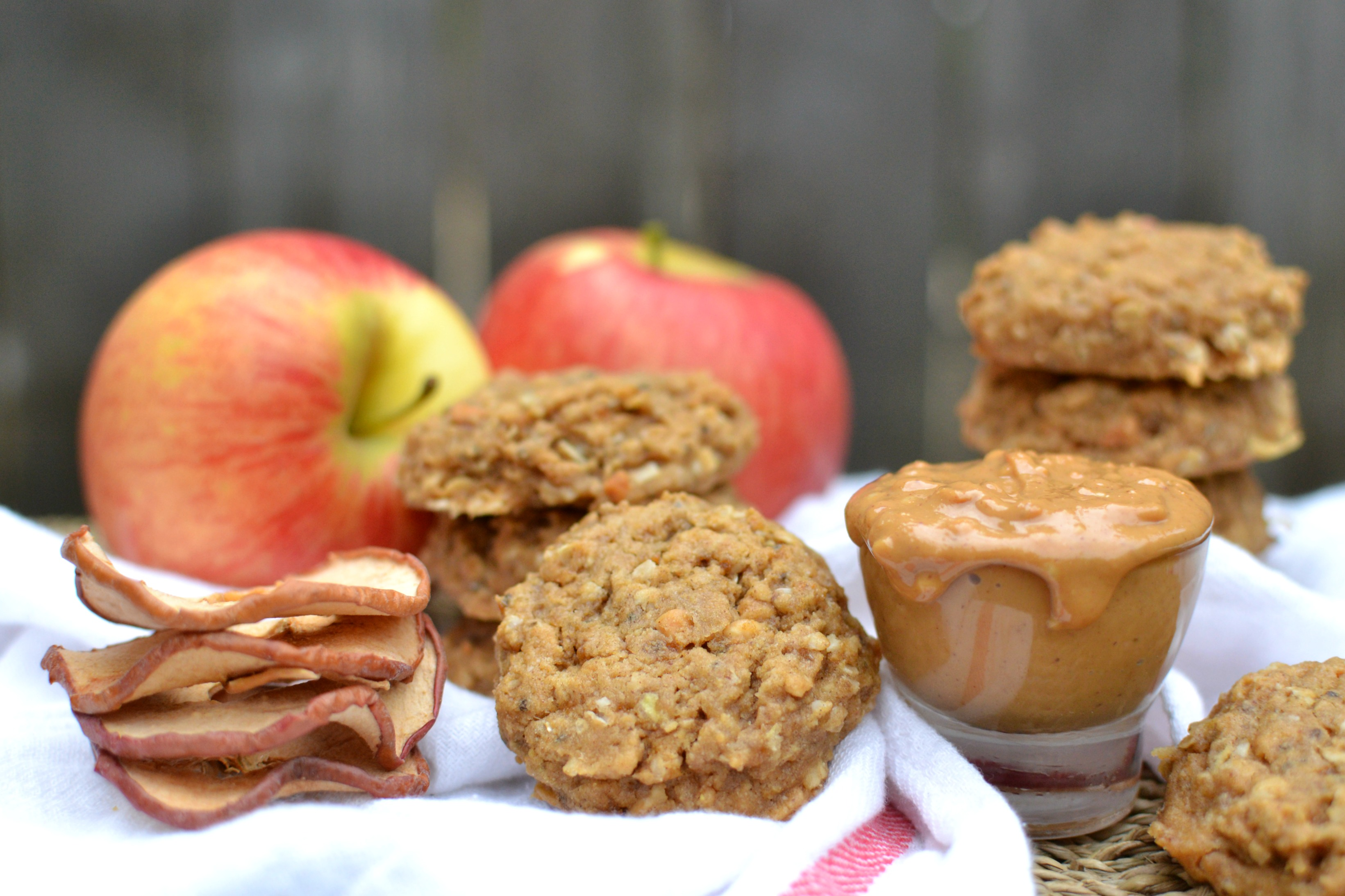 Peanut Butter Apple Cookies 4