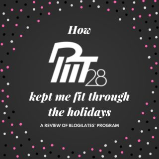 How PIIT28 1.0 kept me fit through the holidays | Blogilates Review