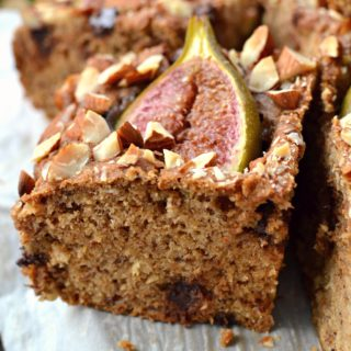 Vegan Banana Fig Cake