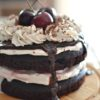 Healthy Black Forest Cake